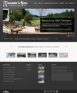 construction-online-marketing-portfolio-web-design testimonials-Alexander-Sons-Landscaping